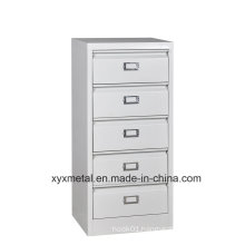 Africa Southeast Asia Storage Cabinet Plastic 5 Drawers/Steel Filing Drawer Cabinet
