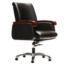 Chaise de bureau moderne à dossier moyen en cuir (HF-CH023B)