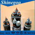 silicon rubber flam-retardant armoured power cable