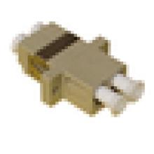 LC / UPC à LC / UPC Type duplex SC avec adaptateur en fibre de plastique à bride