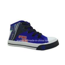 Zapatillas de deporte de dibujos animados Cool High Tobillo (X167-S & B)