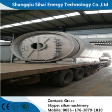 Q245R Steel Plate Waste Tyre Recycling Reactor