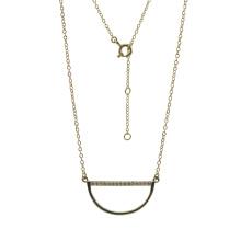 925 Silver Smile Anhänger Halskette