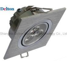 3W Luz de teto quadrada flexível do diodo emissor de luz (DT-TH-3H)