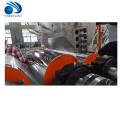 Recyclez pp pp ps en plastique double couche feuille faisant la vis extrudeuse machine de laminoir