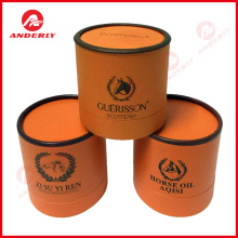 Horse Oil Packaging Custom Cosmetic Paper Tube