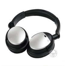Electronic 2016 New Retractable Metal Wireless Active Noise Cancelling Bluetooth Headphone