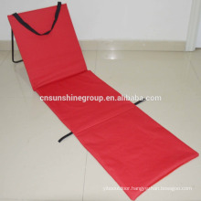Folding Beach Mat With Backrest