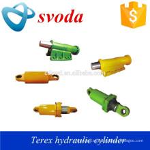 fabricante de cilindro hidráulico de carrera larga para camión volquete, camión terex 3305, 3306, 3307, tr45, tr50, tr60, tr100