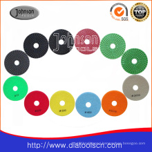 100mm Flexible Wet Polishing Pad