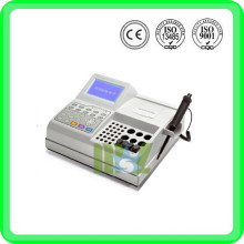 CE proved Semi-auto Blood Coagulation Analyzer MSLBA18W-2015 cheap chemistry analyzer price