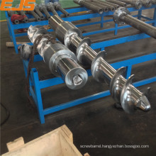 cold feed extruder screw barrel for rubber peocessing