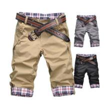 Moda e na moda homens algodão casual shorts (82660)
