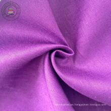 100% lino sólido tela de la camisa (QF13-0272)