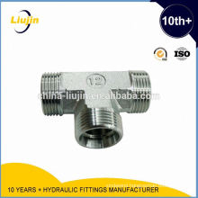 With 10 years experience factory supply 3-way elbow fittings tee joint