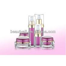 15ml 30ml 50ml Frasco de crema acrílico cosmético oval para el cuidado personal