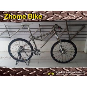 Рама велосипеда велосипедов части/Титан и вилка/MTB Велосипед горный велосипед 3al2.5V 6al4V Zh15TBB01