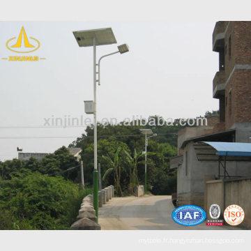 Postes de lampes solaires pour jardin, rue, route, allée