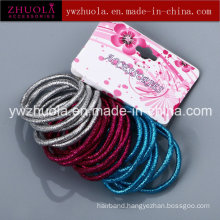 Glitter Rubber Band for Hair