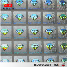 Attractive Logo Print 3D Security Hologram Stickers