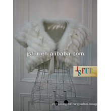 China manufacturer 2013 Fashion and beautiful rabbit fur vest wedding use ladies vest