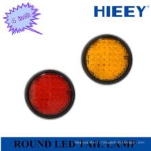 Indicateur de lampe arrière de 4 pouces LED / éclairage arrière pour voiture lourde