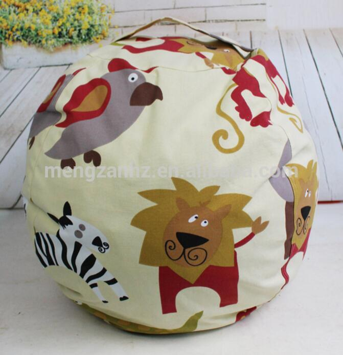 Cubby Cartoon Canvas Fabric Stuffed Animal Bean 2