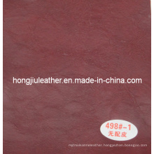 Crack Decorative Leather Oil Waxy Leather for Sofa
