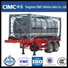 Cimc Contentor de Tanque ISO de 20 pés Contentor de Tanque Químico Líquido de 40 pés