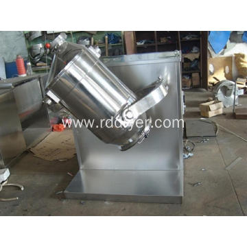Three Dimensional Pharma Mixer for Mixing Powder