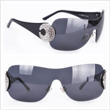 Без оправы объектив / Модные солнцезащитные очки / Новые солнцезащитные очки прибытия
