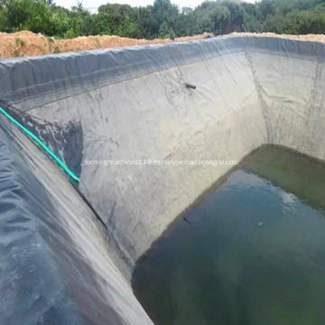 Cubierta de piscina Rollo Granja de peces Revestimiento de estanque Geomembrana