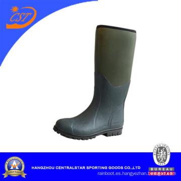 Botas de goma impermeables de la pesca / de la caza de la moda (66450B)