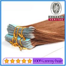 20 Inch Muti Color Gradient Color Brazilian Human Hair Virgin Hair Remy Hair Tape Hair Extensions
