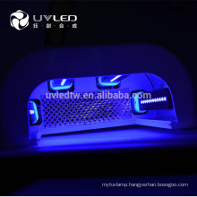 New 365nm+410nm 9w LED UV Lamp for Nail Art,fast cure all kinds of gel