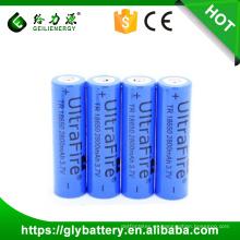 Batería del ego de 18650 3.7v 2800mah para la linterna al por mayor