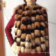 Wholesale Genuine Rex Rabbit And Fox Fur Scarf