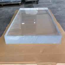 1220 * 2440mm tamanho grande grossa folha acrílica transparente