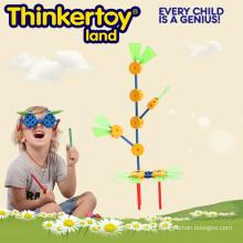 Brinquedo educativo da construção animal para o divertimento da família
