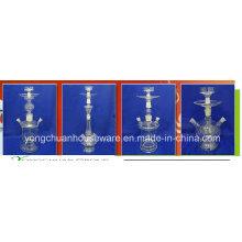 Vidrio hecho a mano árabe Shisha que fuma el vidrio hecho a mano buena calidad