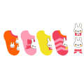 Individuelles Logo Baumwolle Babysocken aus feinen Baumwollsocken Higj Qualität gefertigt