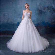 Vestido de casamento branco vestidos de noiva 2016