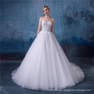 White wedding dress bridal gowns 2016