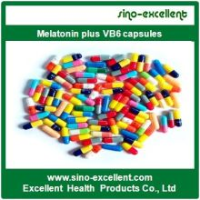 Melatonina plus cápsulas VB6