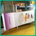 Bannière en gros de polyester de haute qualité faite sur commande de lampadaire