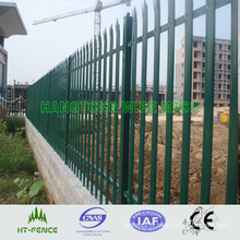 Clôtures en aluminium à palissade