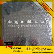 Qualité supérieure de qualité 1050 feuille en aluminium gaufré à vendre