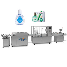 Full automatic 20ML disposable eye drop filling machine