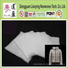 Polyester Fiberfill Padding Isolierung für Kleidungsstück