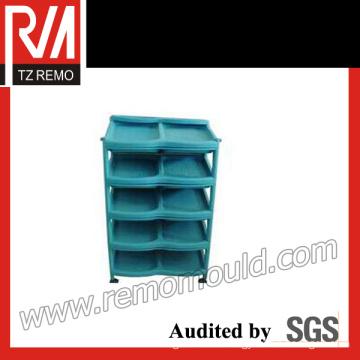 Plastic Shoe Rack Mould (TZRM-SRM15112)